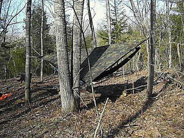 michigan Hammock Hang, April 2007