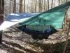 Clark w/10x12 GoLite silnylon tarp by pisgahfan in Hammock Landscapes