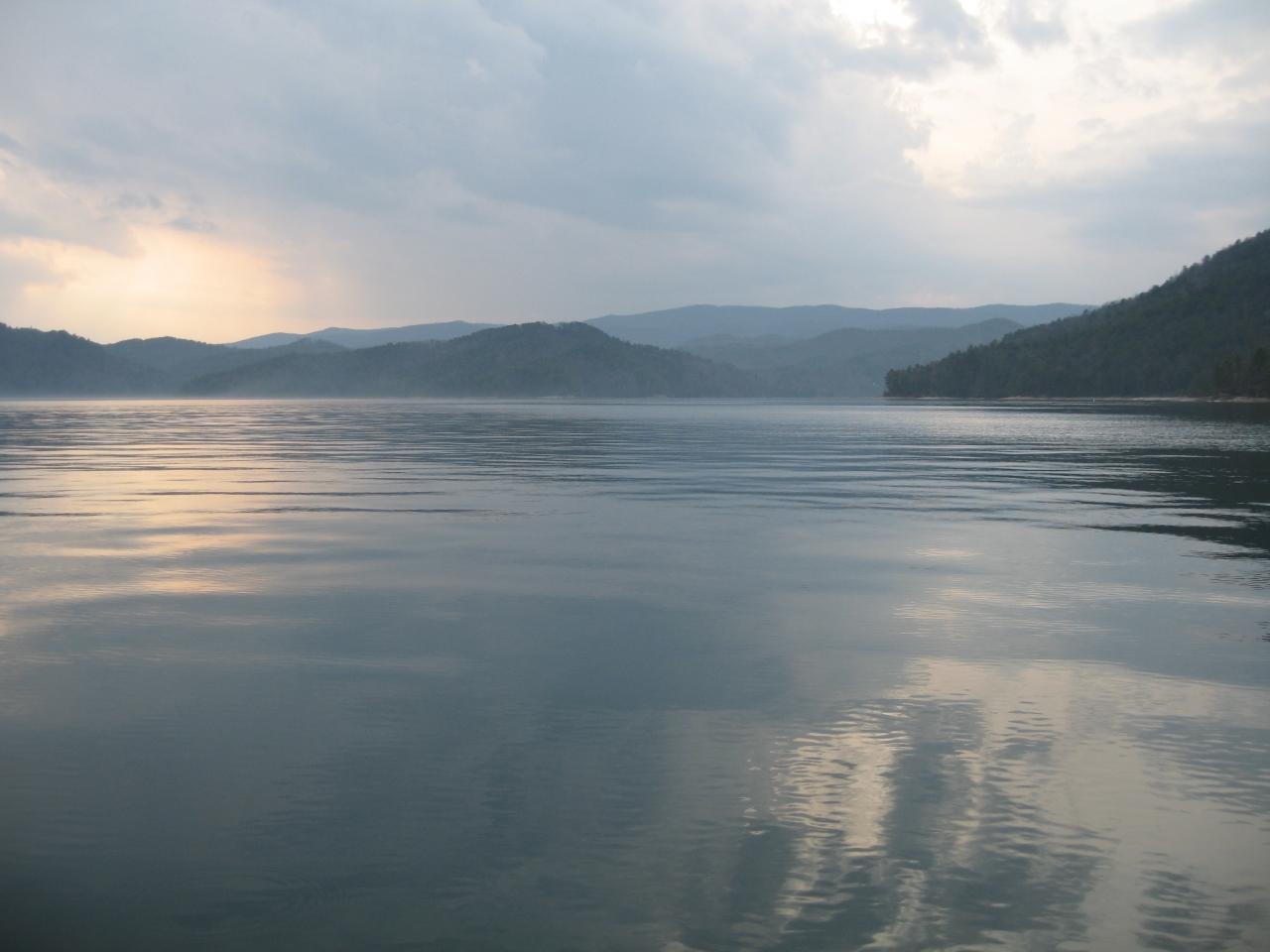 Lake Jocassee 3-18-11