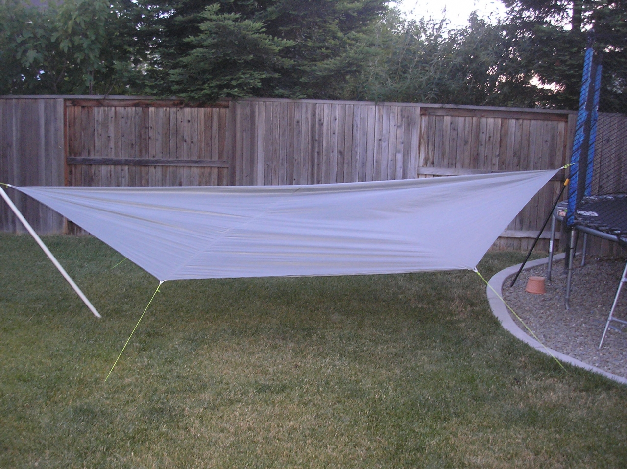 Pitched Tarp