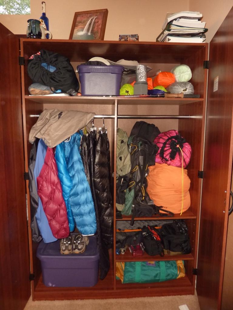Gear Closet!