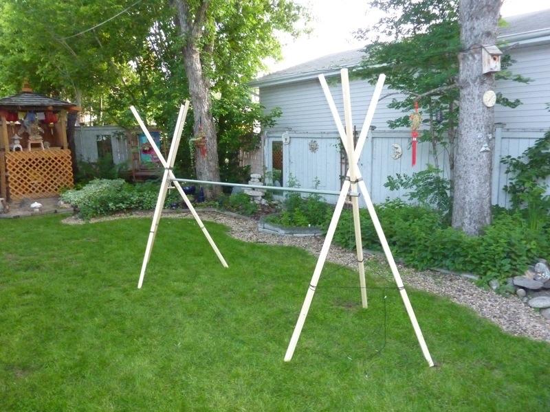 Twin Tripod Stand