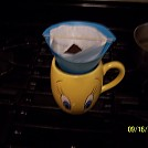 coffee filter by olddog in Homemade gear