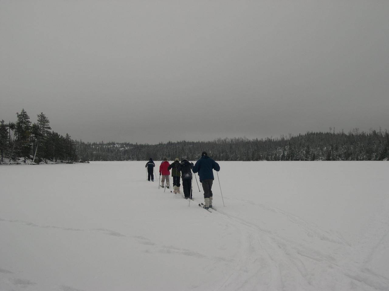 Xc Ski To Prairie Portage