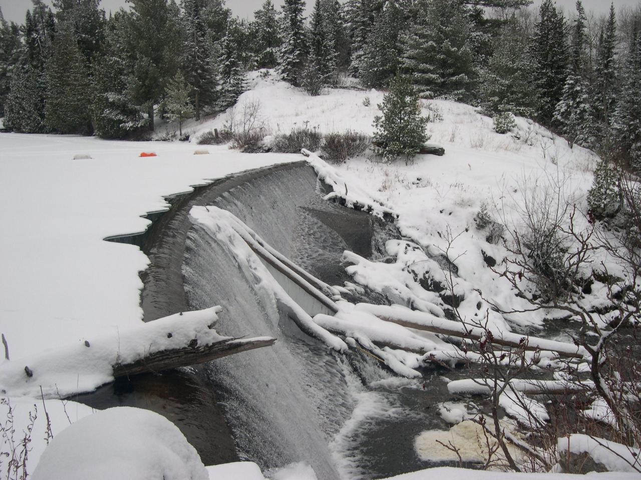 Prairie Portage Falls