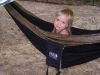 Tiv in my hammock!