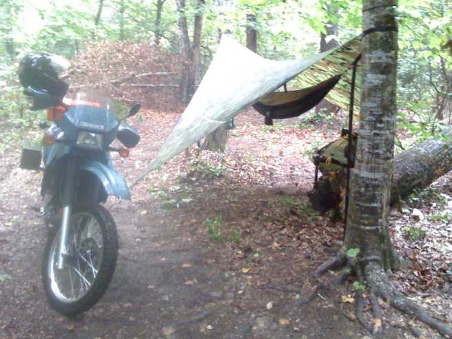 Klr And Hammock