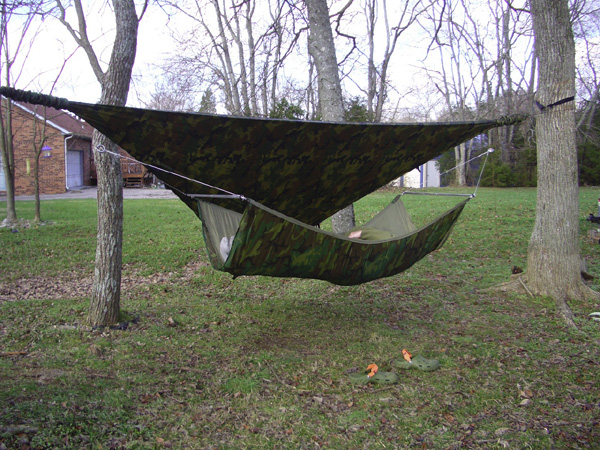 DIY Bridge Hammock