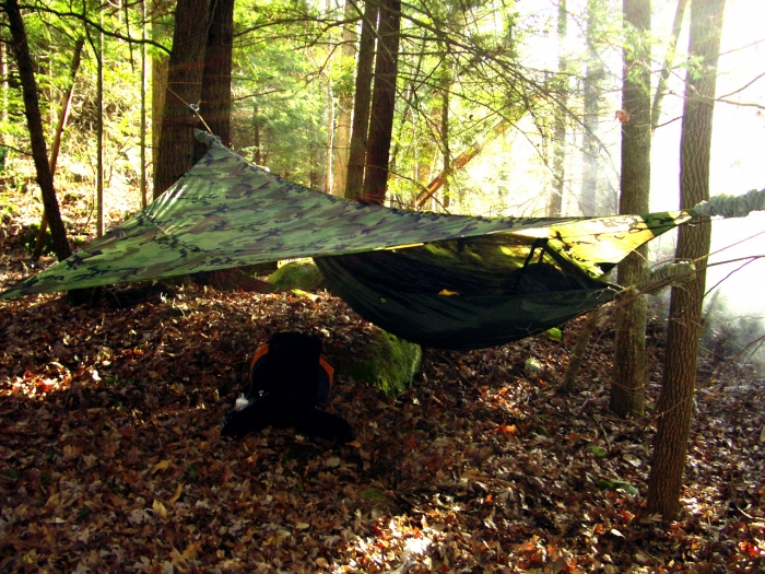my hiking buddy uses the claytor and sg tarp  i used my cuben tarp and a new diy hammock and sock  bo  it was my first trip 100  diy for tarp and hammock big south fork hike and hang   page 5  rh   hammockforums