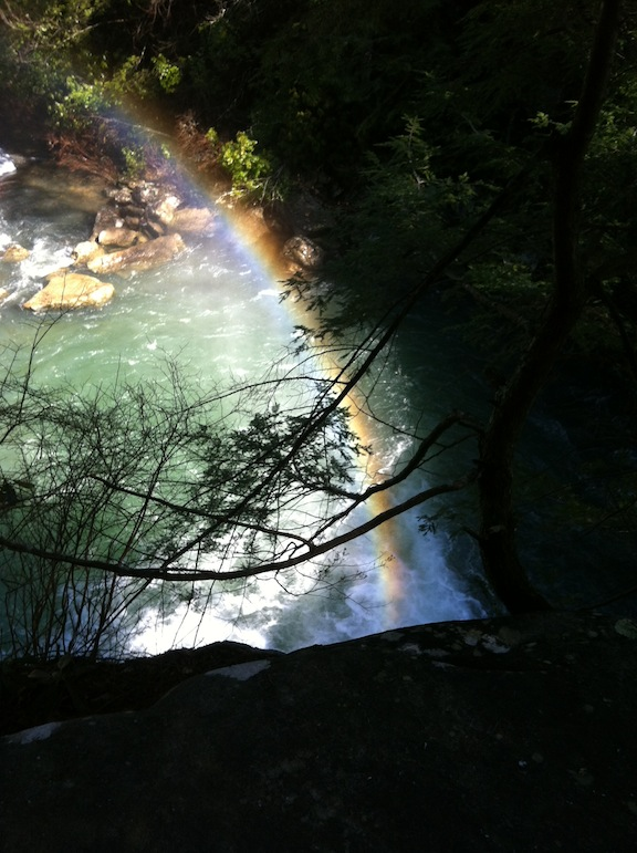 Rainbow Over Savage Gulf Falls