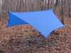 """No flap"" hex silnylon catenary cut tarp"