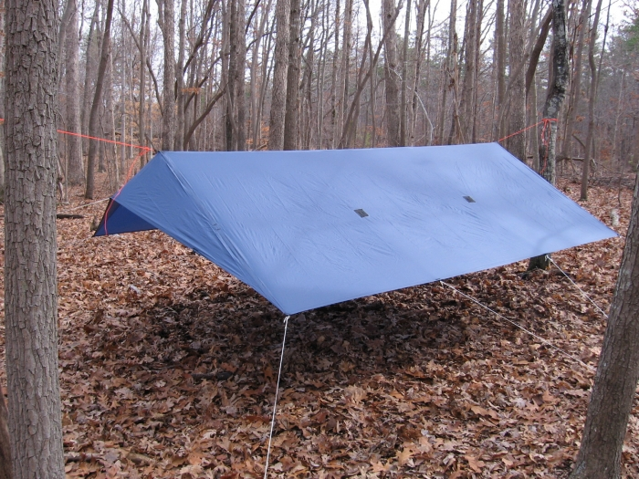 "XL Rayway style ""No Flap"" Tarp"