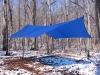 11' x 9' Hex Catenary Silnylon Tarp