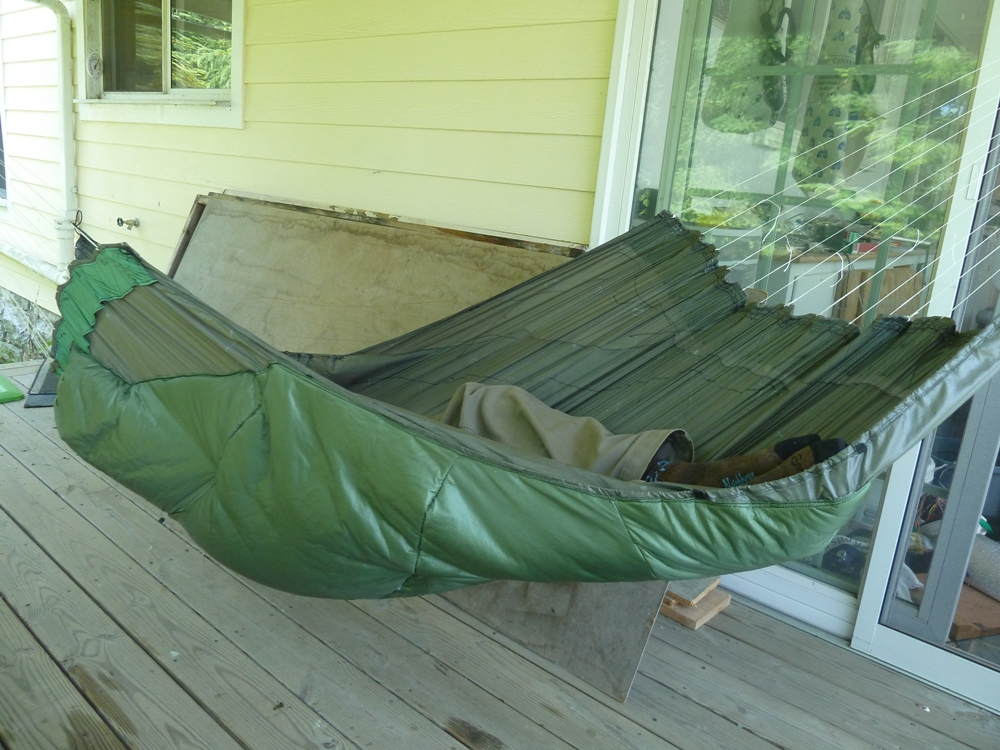 Synthetic Insulated Hammock Prototype