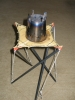 First Tensegrity Stove Table - 4 Struts
