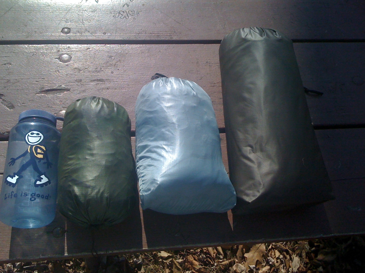Light Hiker Bedroll