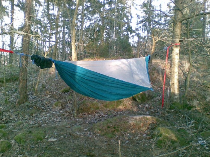 DIY HH-style hammock