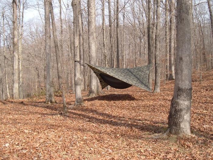 hammock camping mammoth cave