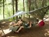 hammock camping with my boys