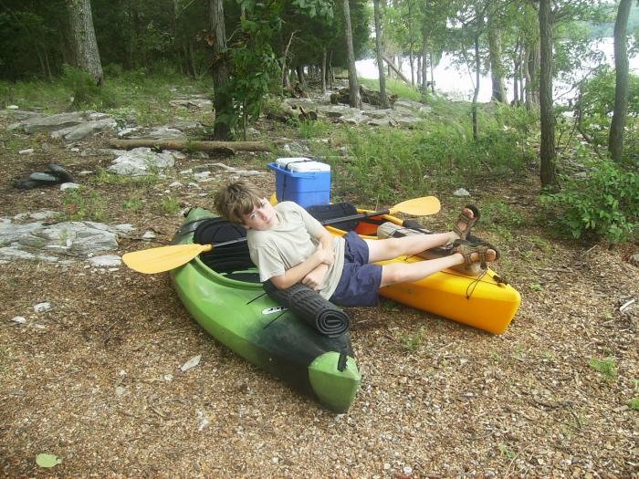 Hammock Yaking Island Camping