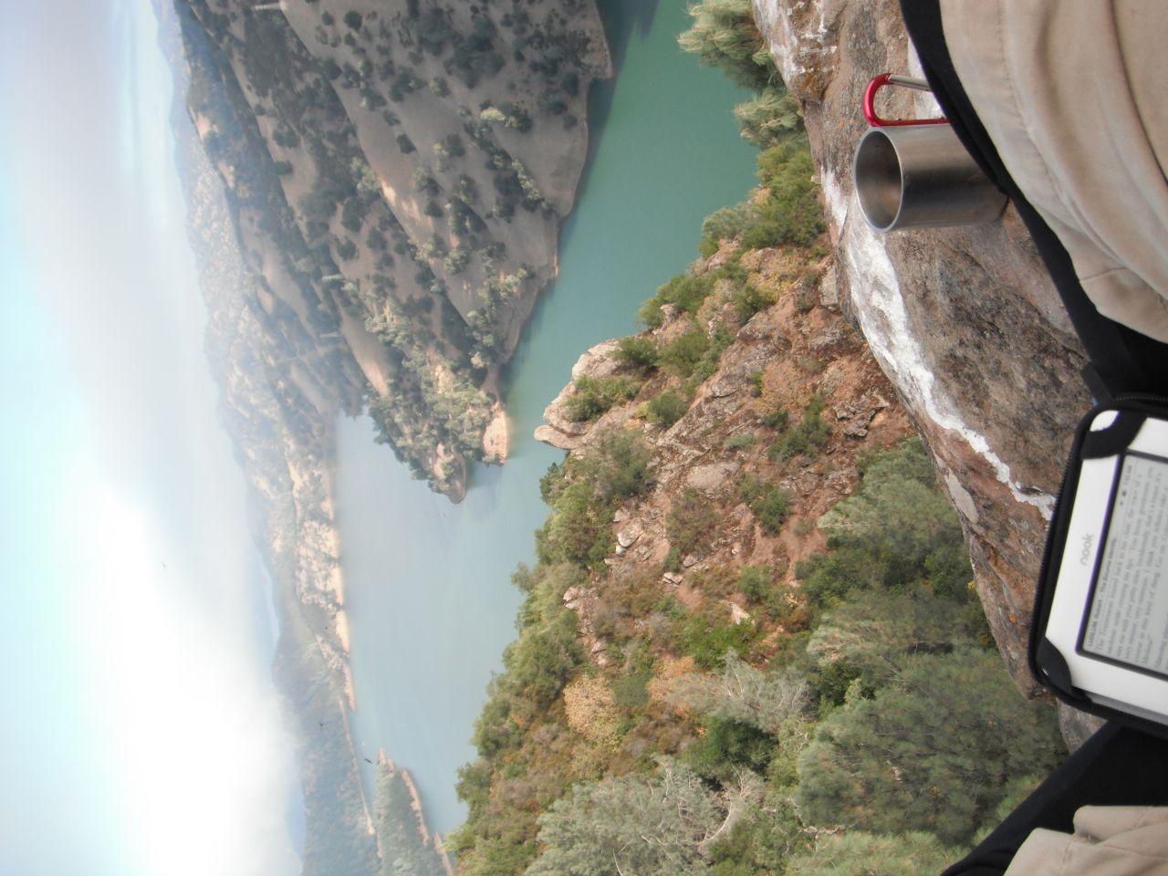 Lake Atop Dam