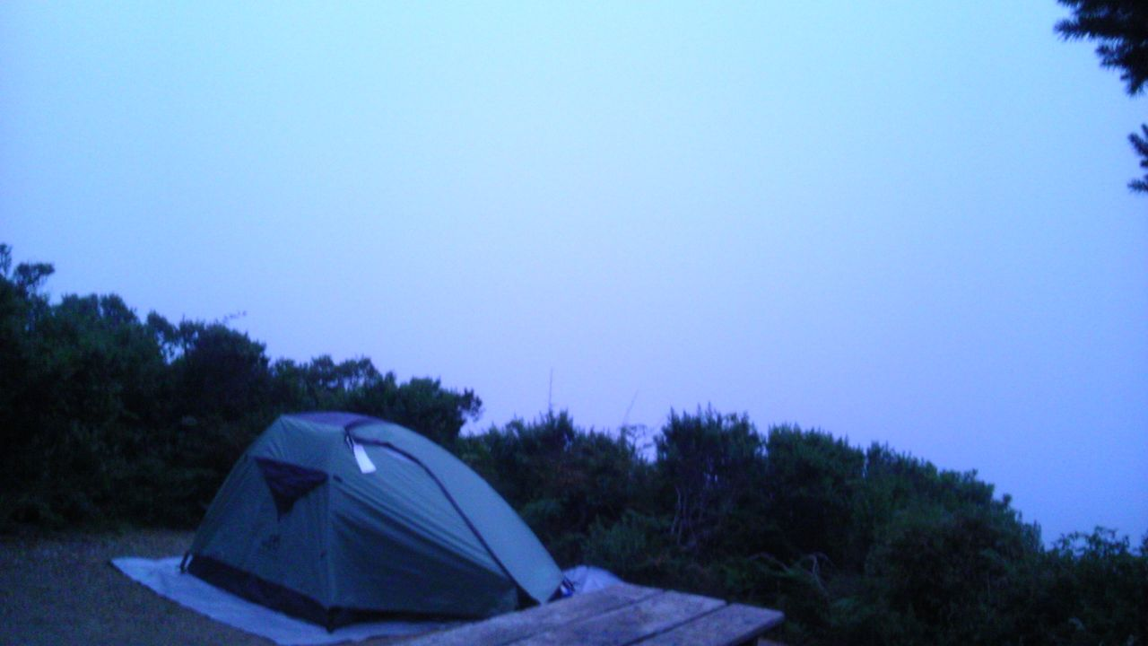 Site 11 At Sky Camp At Point Reyes National Seashore