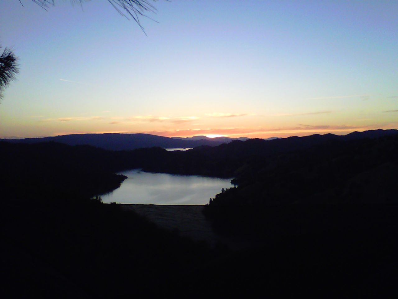 Overlooking Lake Berryessa