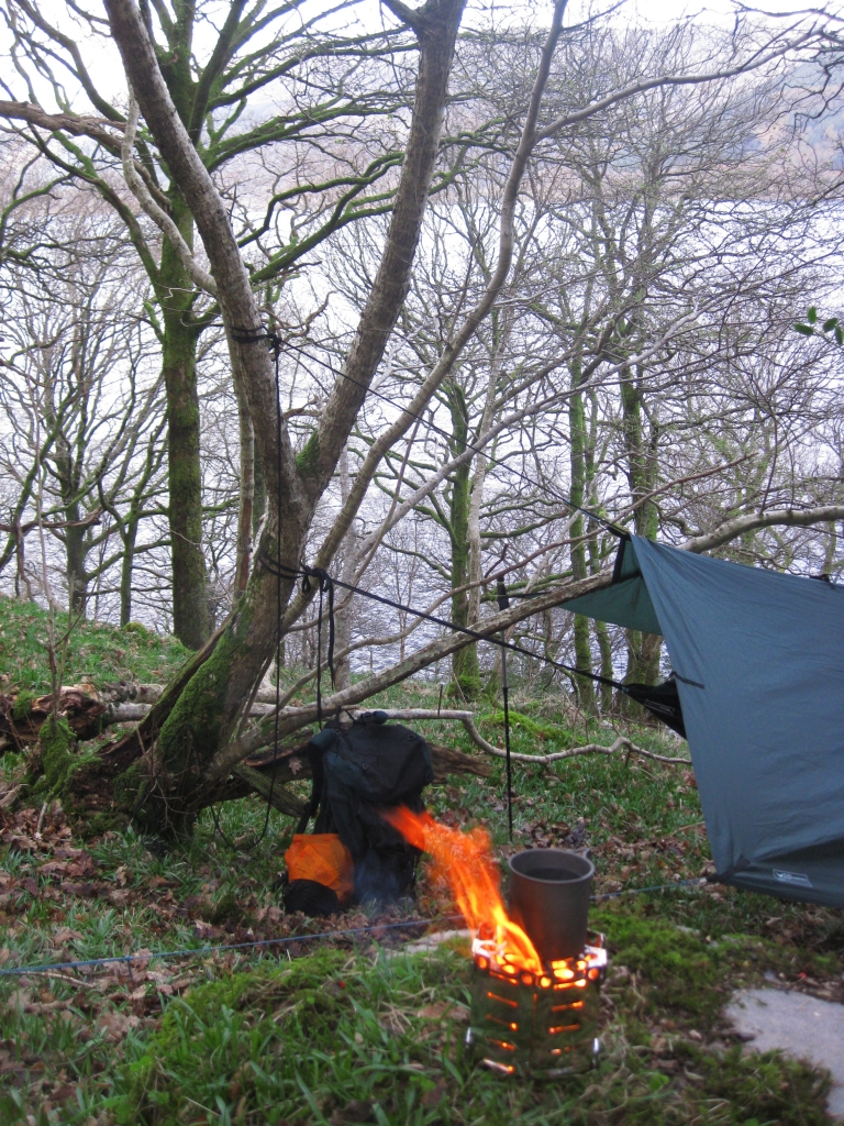 Loch Lomond With Honey Stove