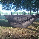 DIY gathered end  hammock with  zipper less bug net by Ch@rlie in Homemade gear