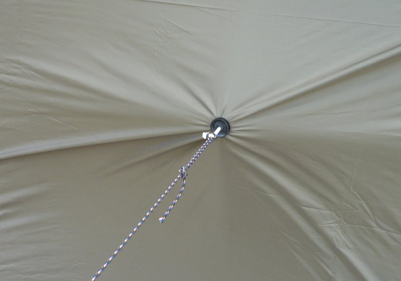 Improvised Tarp Pull-out