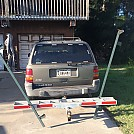 Motorcycle hitch carrier hammock stand idea 1a by spidennis in Images for homemade gear forums directions