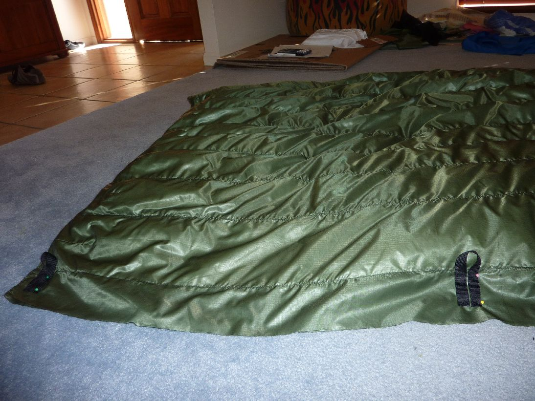 Diy 3/4 Down Underquilt