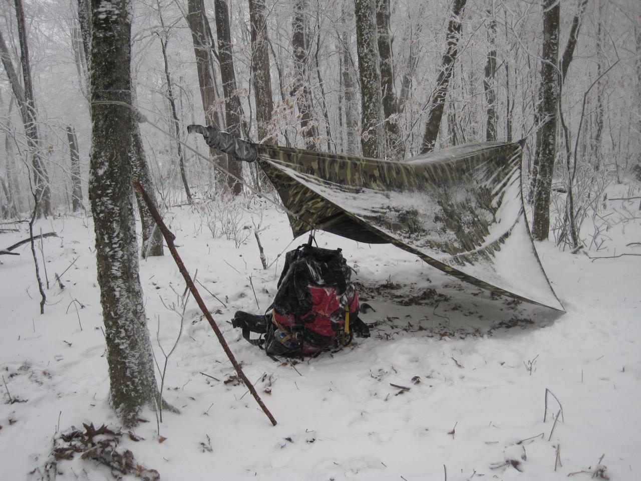A.t. Cold Snow Hammock