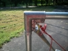 Fence Pole Hammock Stand - Top Corner