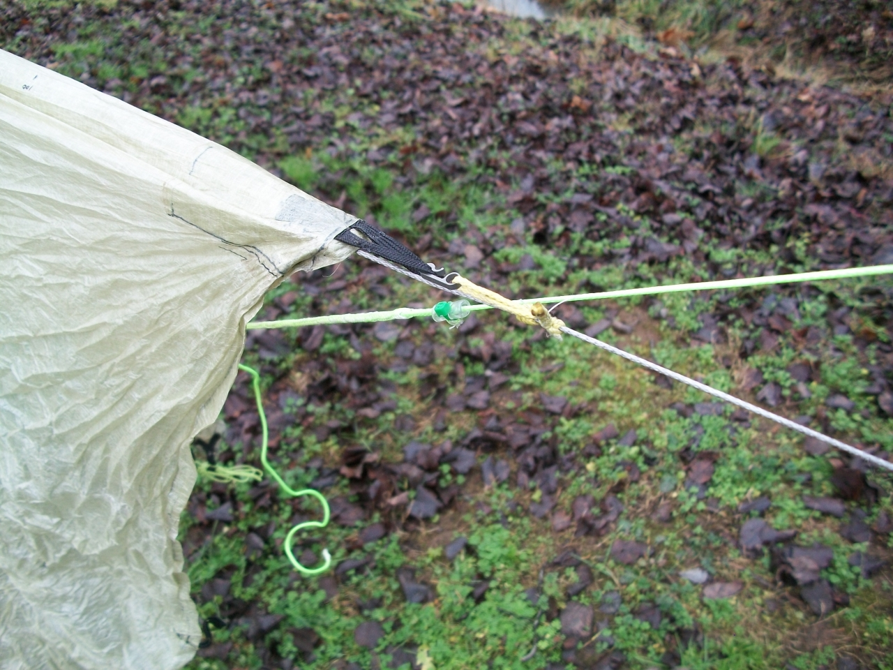 Dutch Hook To Tarp Connection