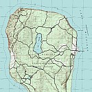 2013 Map of North Manitou Island
