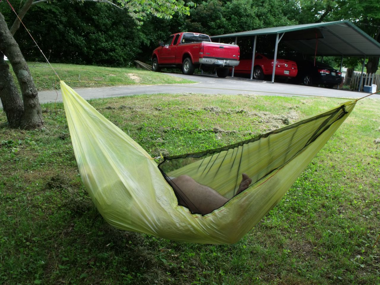 Cuben Ghost Hammock - Back