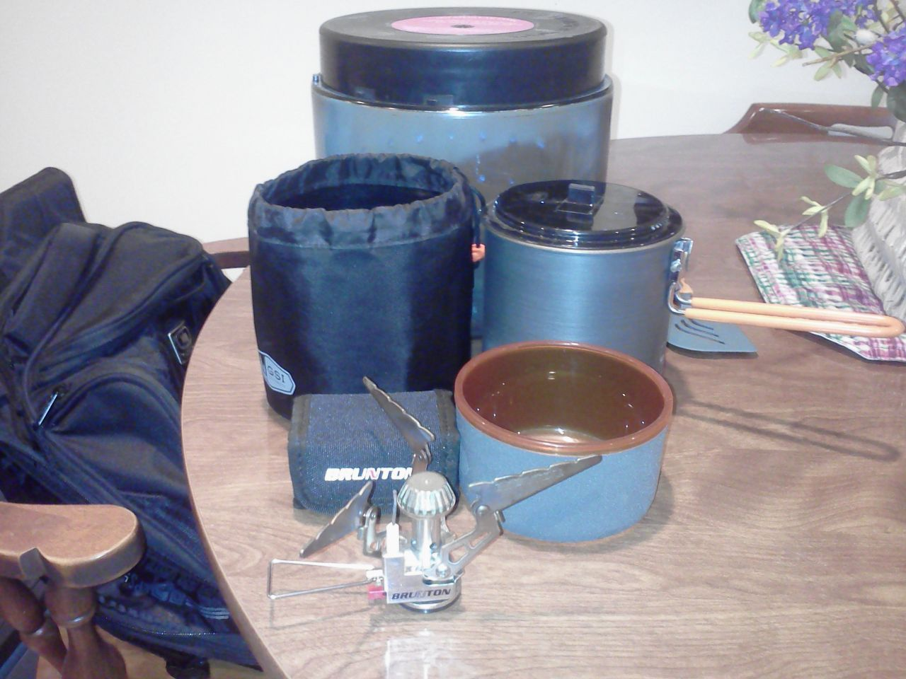 Bear Vault/stove/cook Set