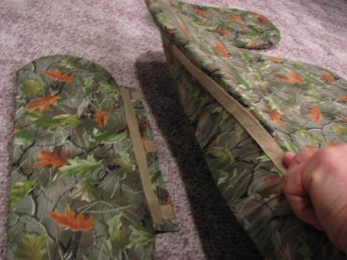 Velcro attachments