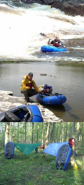 Packrafting And Hammocking