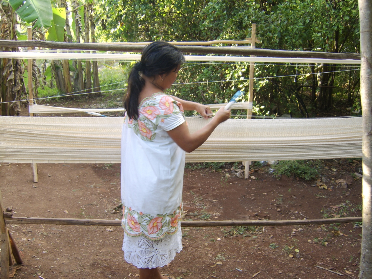 Handwoven Hammocks - Mayan Style