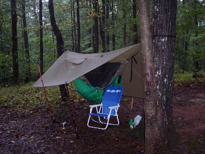 Very Rainy Gear Test Hang