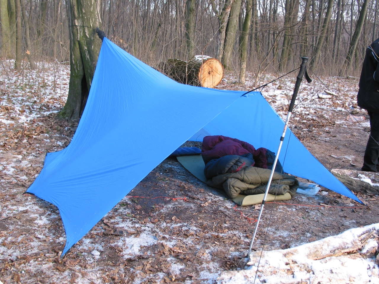 My First Diy Tarp