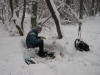 Testing Winter Gear by Rosomaha in Hammock Landscapes