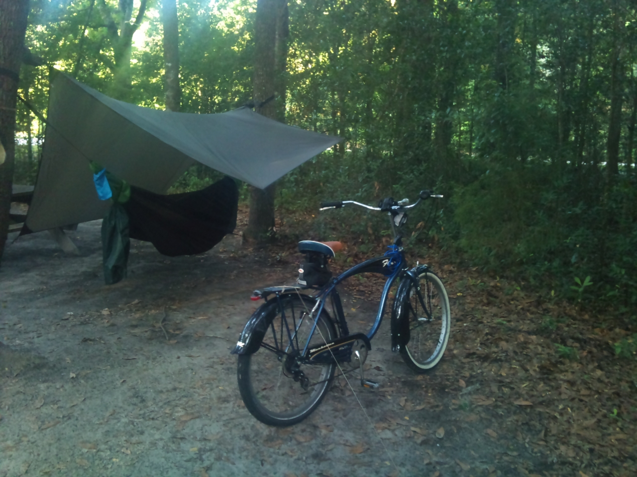 Bike Camping At Ichetucknee