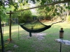 Hammock Set-up In Backyard