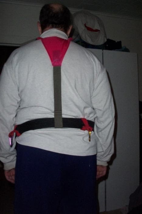 Pulk Harrness With Shoulder Straps