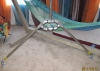 Threaded Pipe Hammock Stand