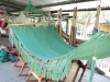 Green Hammock Made Of Cotton by craftsnicaragua in Hammocks