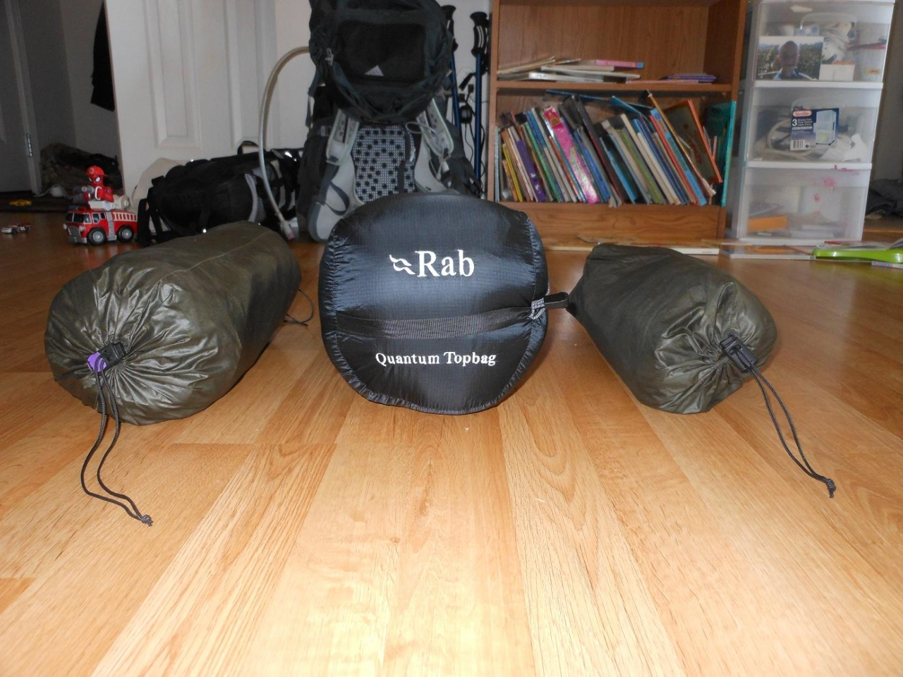 Rab Top Bag